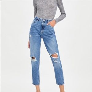 Zara perfect mom jean